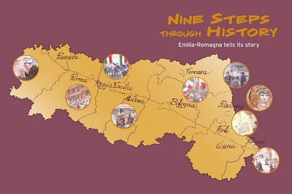 Nine Steps Through History