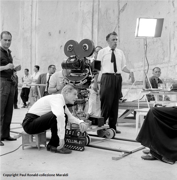 8 ½ di Federico Fellini, 1963 - Copyright Paul Ronald-collezione Maraldi