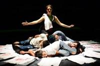 India – Instabili Vaganti theatre company at the Bharat Rang Mahotsav Festival