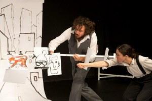 Luxembourg – La Baracca theatre company on tour