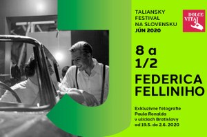 """Slovakia – """"Federico Fellini's 8 ½ in the unpublished photographs by Paul Ronald"""""""