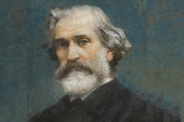 F.P. Michetti, Ritratto di Giuseppe Verdi, 1887