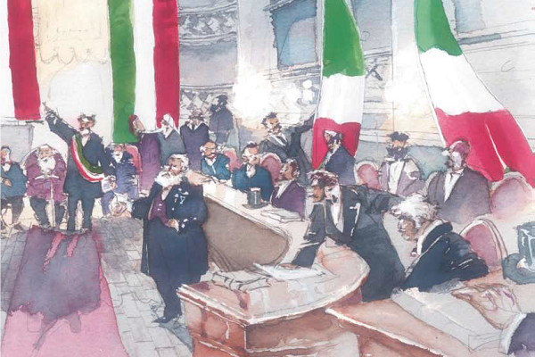 Nove passi nella storia - il Tricolore