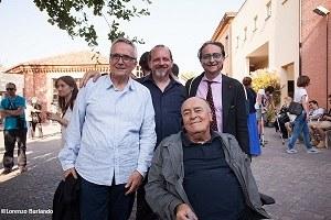 Il Cinema Ritrovato 2016. Bellocchio, Bertolucci, Farinelli, Gambetta - ph. Lorenzo Burlando