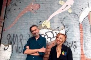 Enrico Casagrande e Daniela Nicolò