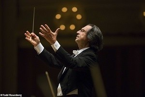 Riccardo Muti, ph. Todd Rosenberg