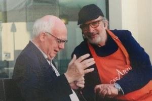 Alberto Capatti e Andy Luotto in Casa Artusi