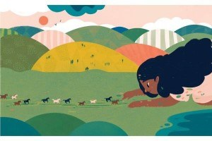 "Francesca Sanna per ""My Friend Earth"" di Patricia Maclachlan"