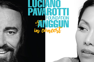 Pavarotti Foundation and Anggun in Concert