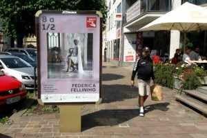 """mostra su """"8 ½"""" di Fellini a Košice"""